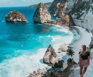 admire, bali, and beach image