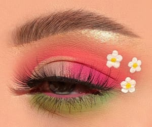 makeup, eye makeup, and pretty image