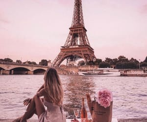 girl, paris, and beautiful image