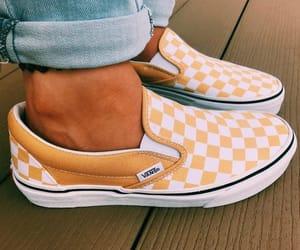 yellow, checkered, and fashion image
