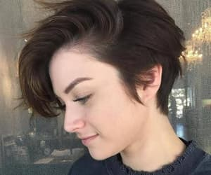 hair, girls, and short hair image
