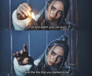 billie eilish, quotes, and words image