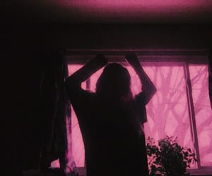 aesthetic, pink, and girl image