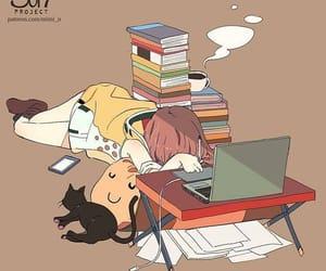 alone, anime, and anime girl image