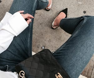 chanel, chic, and denim image