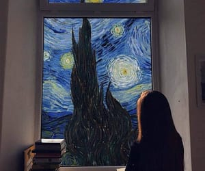 art, artists, and starry night image