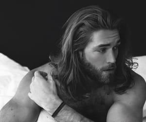 black, handsome, and man image