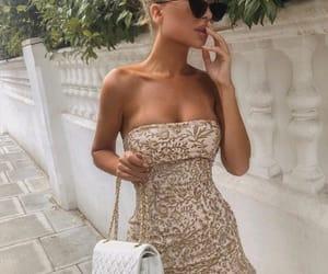 dress, fashion, and stylé image