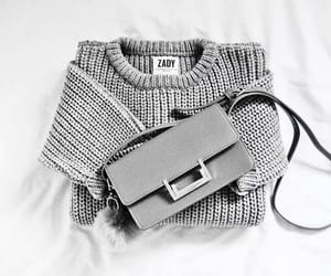 bag, fashion, and gray image