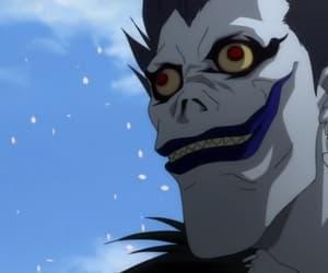 anime, death note, and ryuk image