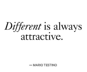 different, quotes, and attractive image