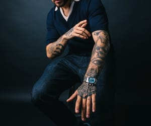 sexy, singer, and tattoo image