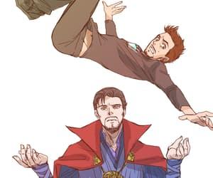 Marvel and ironstrange image