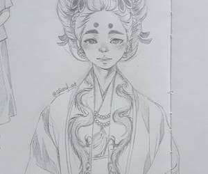 anime, doodle, and drawing image