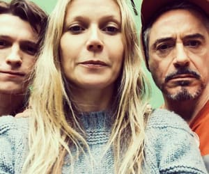 gwyneth paltrow, pepper potts, and tom holland image