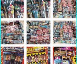 fireworks, kunst, and rakete image