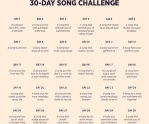 article, 30 day challenge, and music image