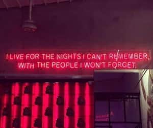 quotes, red, and neon image