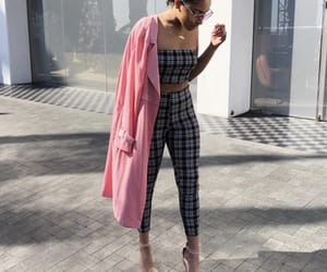 chic, classic, and outfit image