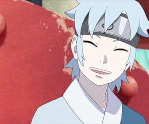 anime, blue, and boy image