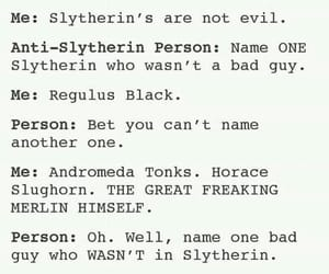 harry potter, slytherin, and stereotypes image