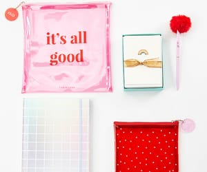 gift, notebook, and pink image