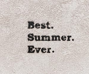 quote, summer, and words image