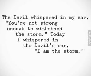 Devil, storm, and strong image