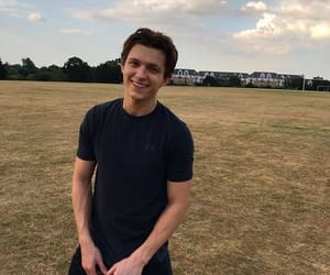 tom holland, spiderman, and boy image