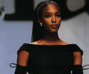 fashion, Naomi Campbell, and 90s image