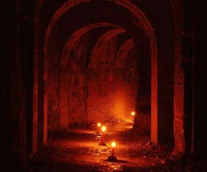 candles, catacombs, and paris image
