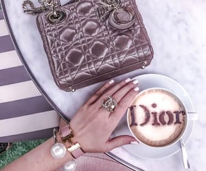 bag, beautiful, and coffee image