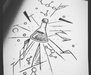 chemistry, draw, and science image
