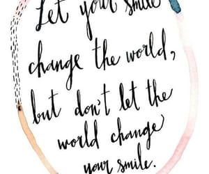 quotes, smile, and world image