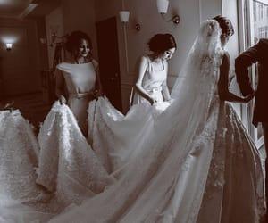amazing, bride, and bridesmaid image
