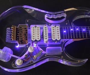 glow, guitar, and light image