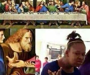 jesus, funny, and meme image