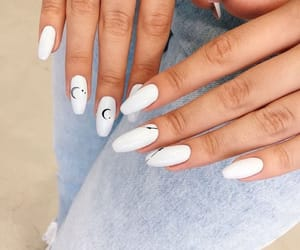 beauty, nail art, and summer image