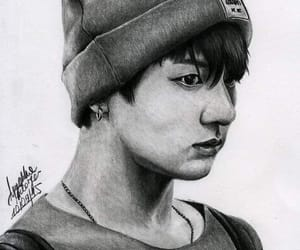 fanart, bts, and drawing image