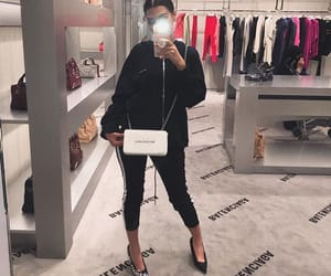 black, fashion, and goals image
