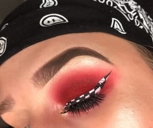 eye makeup, eyeliner, and eyes image