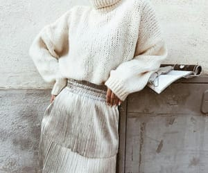 fashion, chic, and skirt image