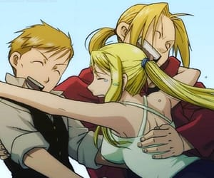 Full Metal Alchemist, winry rockbell, and edward elric image