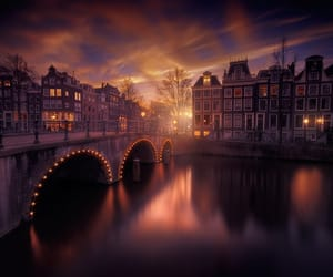 travel, amsterdam, and beauty image
