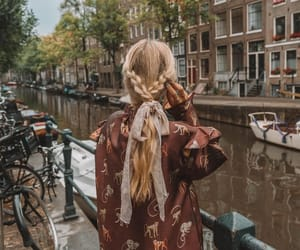 amsterdam, blonde, and hairstyle image