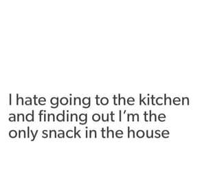 funny, kitchen, and quote image