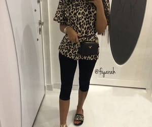 fashion style, outfit clothes, and chanel slippers image