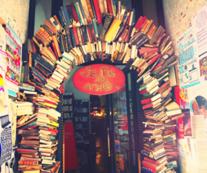 books, cool, and hipster image