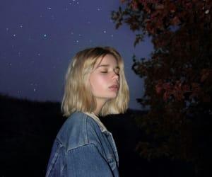 girl, aesthetic, and night image