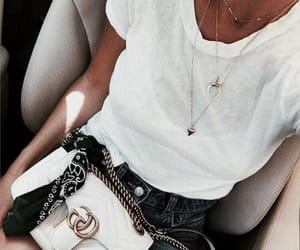 accessories, black ans white, and fashion image